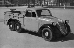 """Furgone Ollearo su base Fiat 500 """"Topolino"""""""