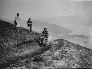 Eva Marzone Ollearo alla scalata del Mottarone
